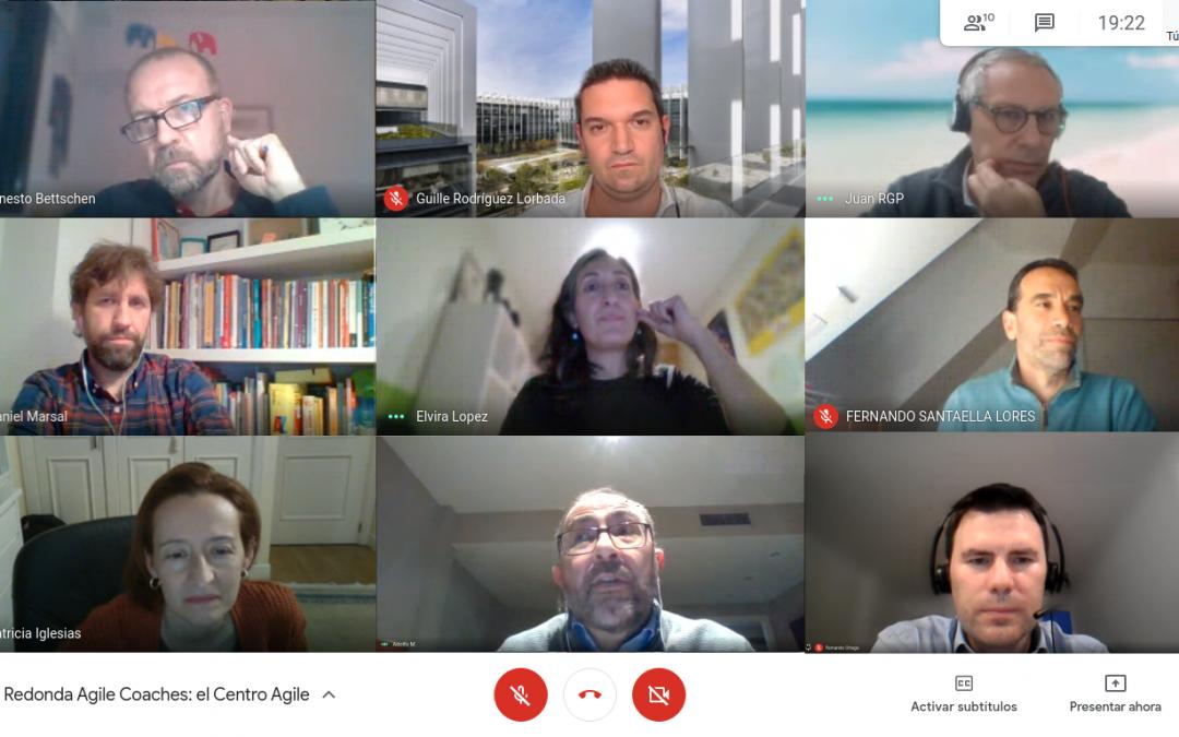 El Centro Agile: mesa redonda de Agile Coaches